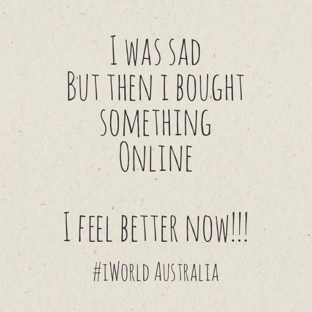 Online shopping makes us all so happy!!!!