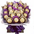 Ferrero Rocher 20 Chocolate Bouquet - Sweet Hamper Tree Explosion: Amazon.co.uk: Grocery