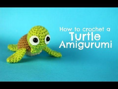How to crochet a Turtle amigurumi | World Of Amigurumi - YouTube