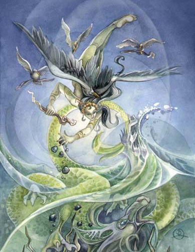 Jing Wei- Ave vingadora do mar