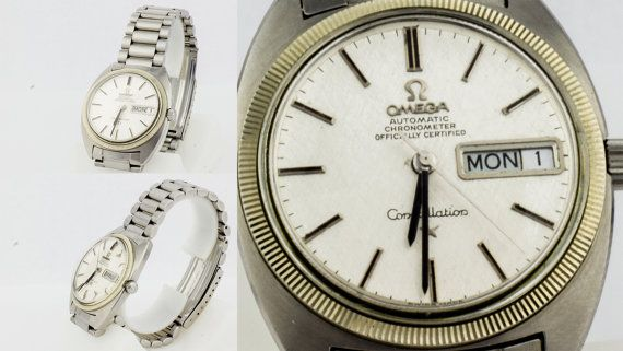 34 mm Omega Constellation Automatic Chronometer by VintageMessage