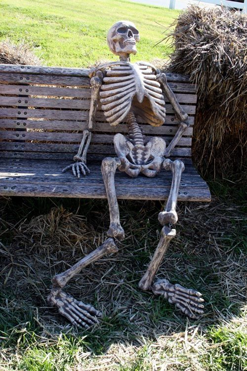funny skeleton waiting pictures - Google Search