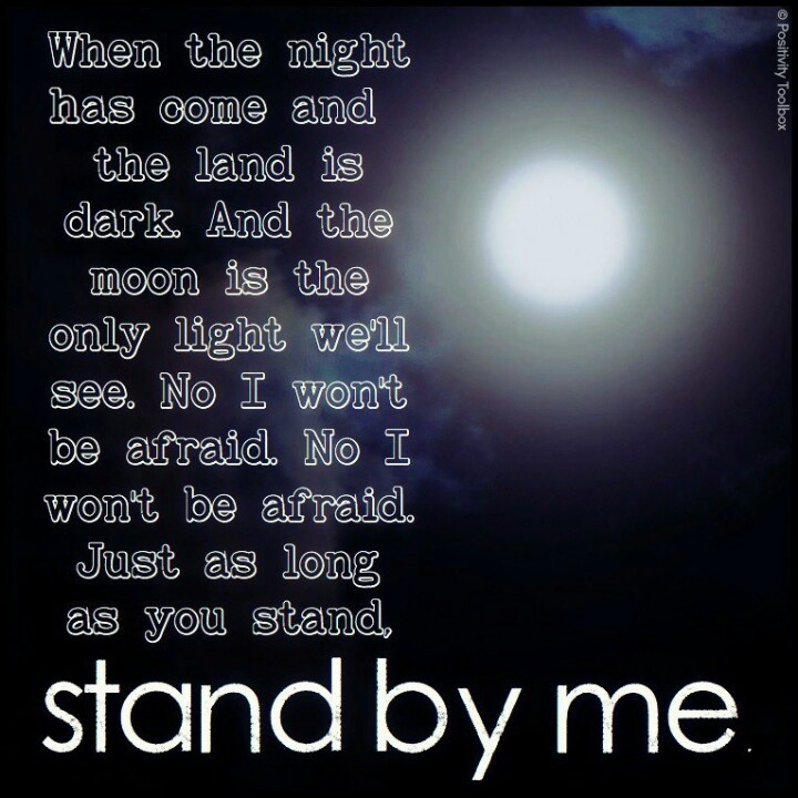Lyrics for stand by me ben king