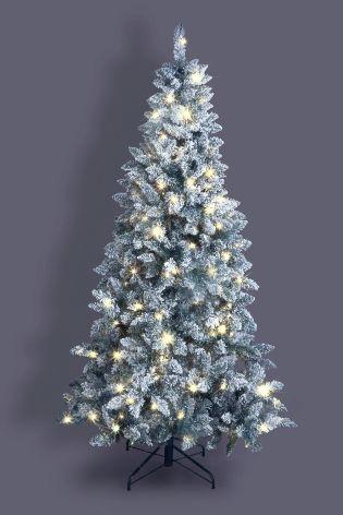 7FT 300 LED Snowy Tree