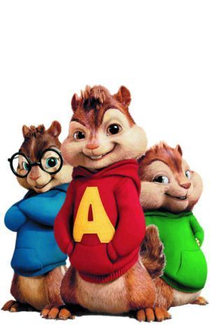 Alvin and the Chipmunks..... we've got the same initials so this could be a little side costume for pre Halloween outings.