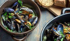 Мидии в чесночном соусе, ссылка на рецепт - https://recase.org/midii-v-chesnochnom-souse/  #Вегетарианскиерецепты #Диетическиерецепты #Морепродукты #Рецептыдлядиабетиков #Рецептынаскоруюруку #блюдо #кухня #пища #рецепты #кулинария #еда #блюда #food #cook