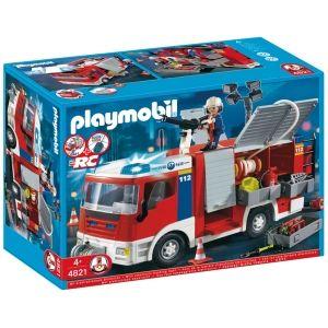 PLAYMOBIL ® figure 4821 CAMIÓN DE BOMBEROS