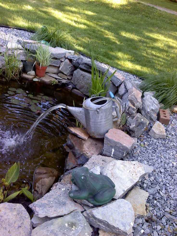 Tiny Backyard Ponds Ideas For Your Small Garden 13