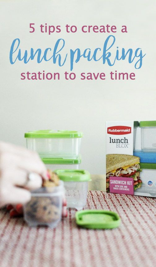 When you're searching for ideas that make back-to-school season easy, these 5 tips to create a lunch packing station to save time could be just what you're looking for. Using Rubbermaid LunchBlox®, there's no better kid-friendly meal prep inspiration.