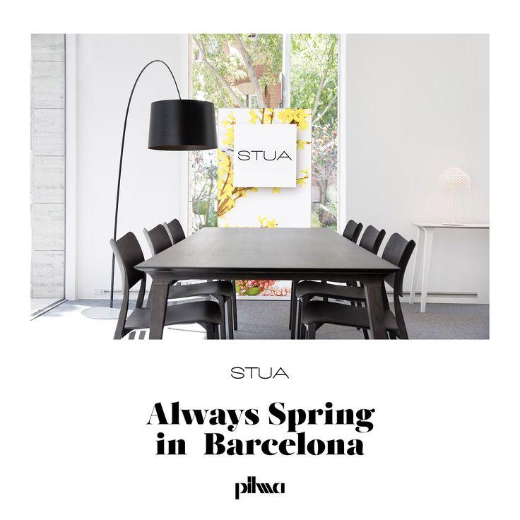 "STUA is happy to open the first ""shop in shop"" in Barcelona, inside Pilma store."