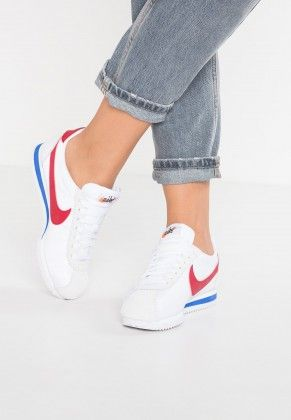 5bb4e9ed79c Nike Classic Cortez Premium Shoes Low Of White Varsity Red Varsity Royal  For Men s And Women s