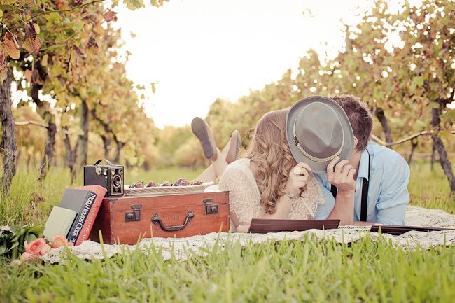"""We love this engagement session photographed by Sandra Henri Photography! We think it's the story by behind the photos that we love most. The theme of the shoot is """"Grow old along with me"""". This is what Sandra Henri Photography had to say about the background story: The story of the session is this couple's …"""