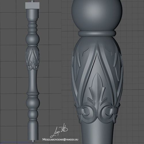 baluster   3D Print Model