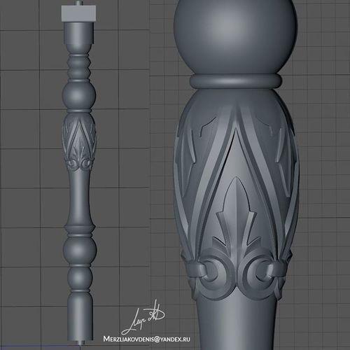 baluster | 3D Print Model