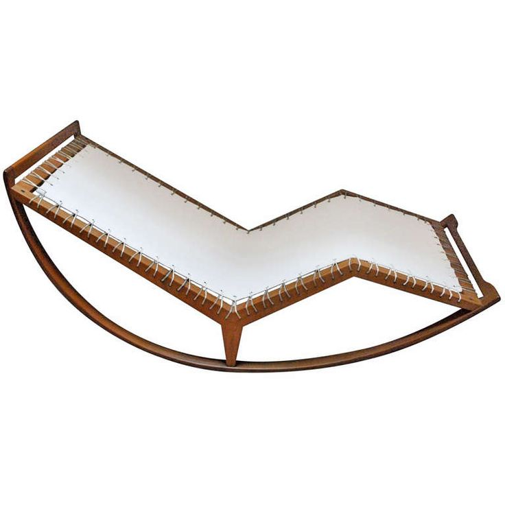 Beautiful Rocking Chaise Model N. PS16 By Franco Albini