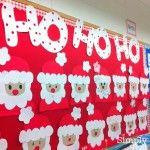 Christmas Bulletin Boards Santa