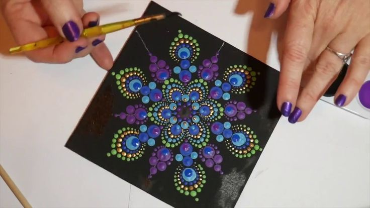 how to make purple paint with acrylic paint