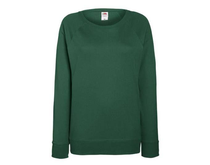 Lady-Fit Lightweight Raglan Sweatshirt / Pullover   Fruit of the Loom Jetzt bestellen unter: https://mode.ladendirekt.de/damen/bekleidung/sweatshirts-und-jacken/sweatshirts/?uid=cc9e76d4-3273-564b-bf45-07169da6befb&utm_source=pinterest&utm_medium=pin&utm_campaign=boards #sweatshirts #bekleidung #jacken