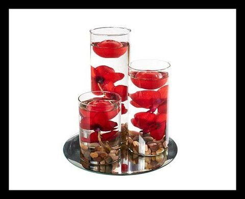 Set Of 3 Floating Candles