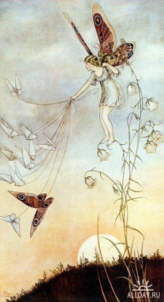 Иллюстрации детских книг австралийской художницы Ida Rentoul Outhwaite (1888 – 1960)