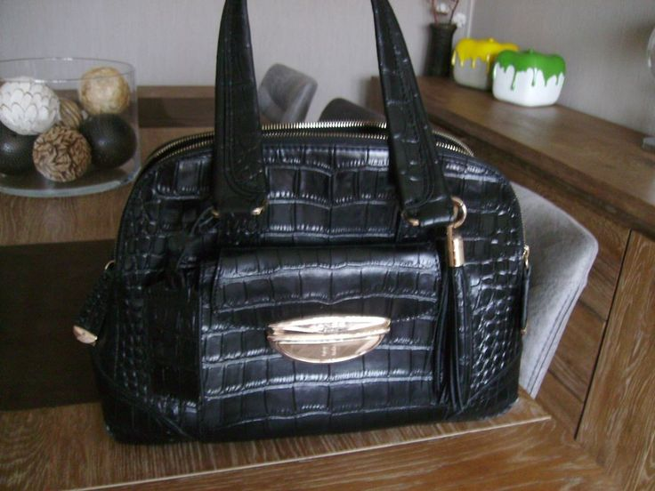 SAC LANCEL ADJANI CROCO