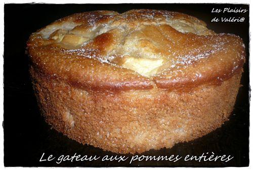 Gâteau aux Pommes entières
