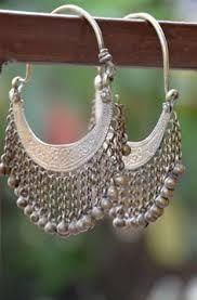 white pearl jhumkay - Google Search