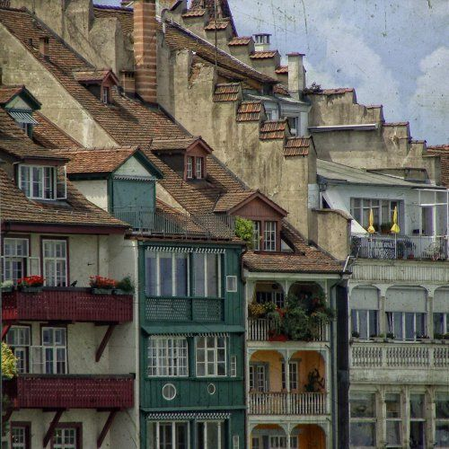 Basel, Switzerland. Love this city!