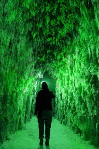 Chitose-Lake Shikotsu Ice Festival in Sapporo Japan