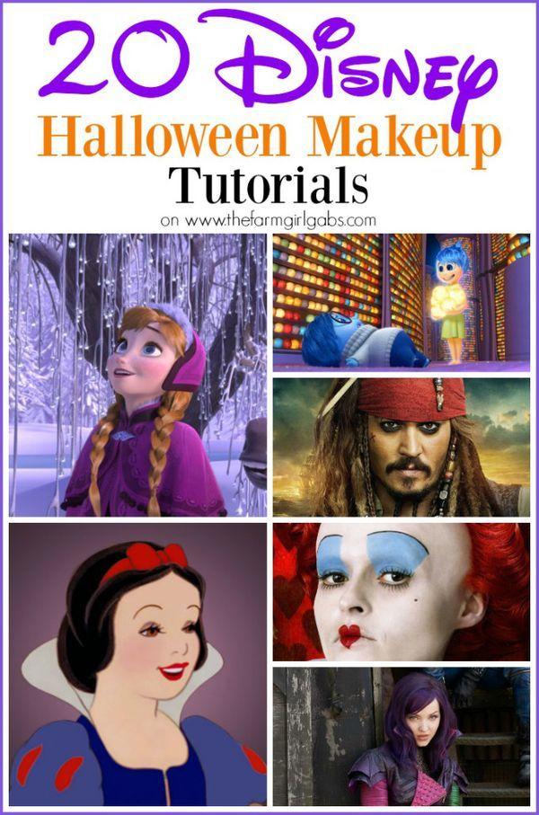 The 25+ best Disney halloween makeup ideas on Pinterest | Disney ...