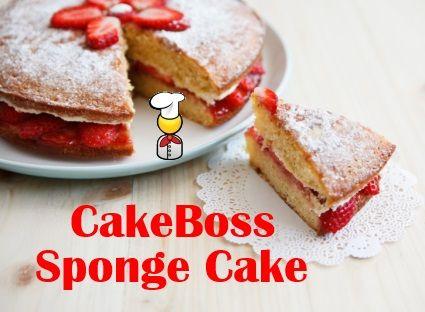 Cake Boss s basic sponge cake recipe Recipes - Cakes ...