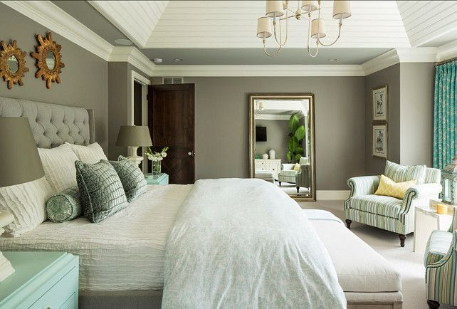 "#Master #Bedroom Bedroom Paint Color: ""Winter Gates AC-30 by Benjamin Moore""."
