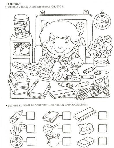 123 Manía: actividades de matemática para imprimir, resolver y colorear - Betiana 1 - Picasa Web Albums