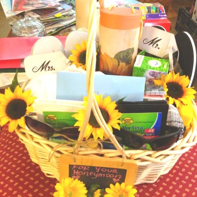 Wedding Night Hotel Gift Basket : ... Basket on Pinterest Wedding night lingerie, Honeymoon gift baskets