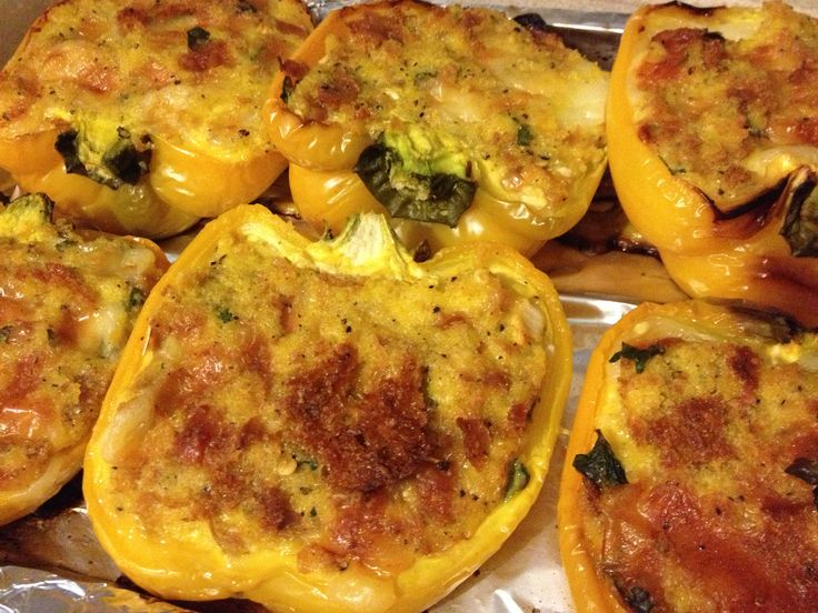 Peperoni ripieni senza carne, ricetta piatto unico