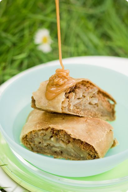 Apple, Cinnamon and Walnut Strudel | Apple icious | Pinterest