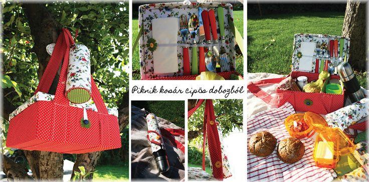 shoe box picnic basket