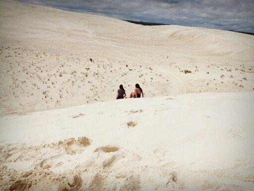 Sand dunes, Lanclein