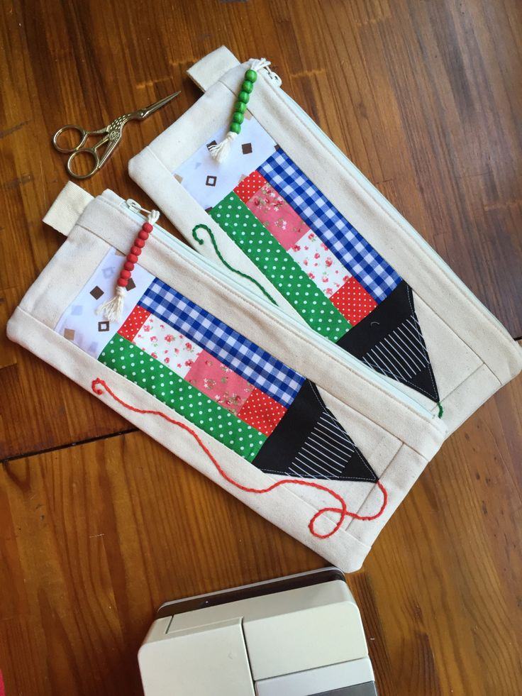 Pencil Bags by EverSewNice on Etsy