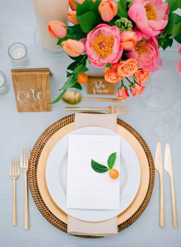 Jose Villa Photography | Planning & Design: Simply Chic Events | Floral Decor & Design: Amaryllis, Inc |   Stationery: Haute Papier | Custom paper design: Paper Tangent | Rental Equipment: DC Rental | Linens: La Tavola | Flatware: Ultrapom