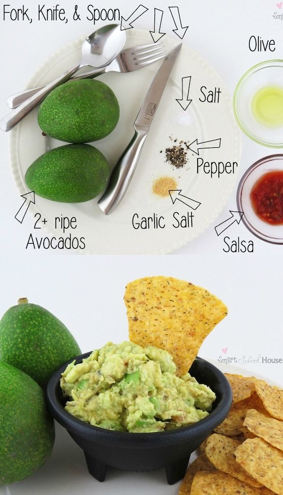 how to make simple healthy guacamole