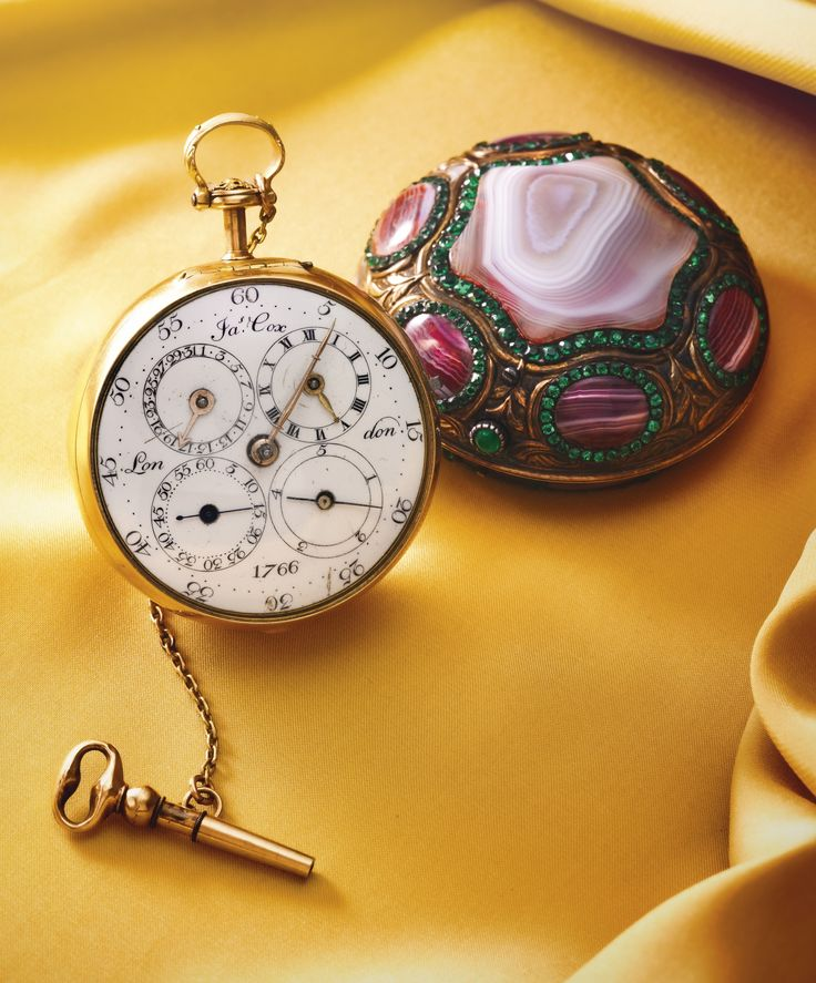 Beautiful antique pocket watches 73 pinterest a rare gold agate and green paste pair cased watch with jump fifth diablotine mozeypictures Choice Image