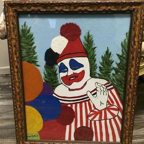 Pogo the Clown by John Wayne Gacy