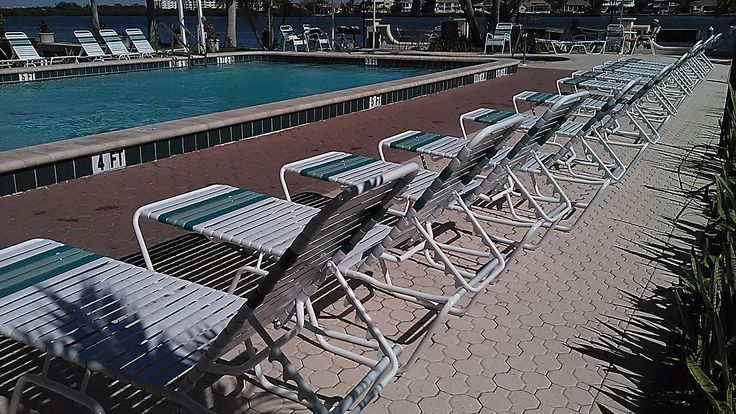 Powder coated aluminum chaise lounges. We ship everywhere. Wholesale prices to the public