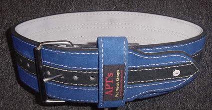 APT Weight Lifting Belt - Single Prong Leather