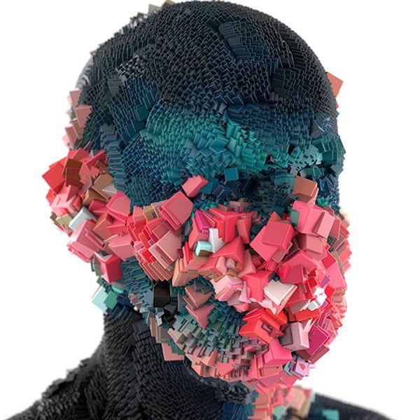 XGen Portaits by Digital Sculptor Lee Griggs - BOOOOOOOM! - CREATE * INSPIRE * COMMUNITY * ART * DESIGN * MUSIC * FILM * PHOTO * PROJECTS