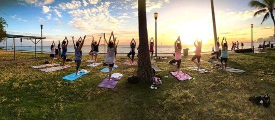 Beach Sunset Yoga Hawaii, Honolulu Picture: Yoga Retreats activities Hawaii | San Diego - Check out TripAdvisor members' 50,058 candid photos and videos of Beach Sunset Yoga Hawaii