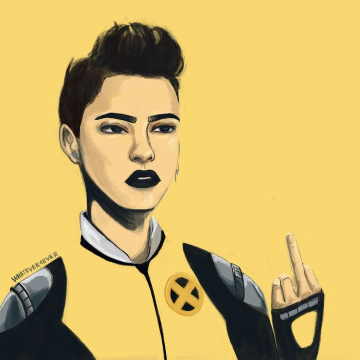Negasonic Teenage Warhead Digital 2480x2481px http://ift.tt/2mAvaCz