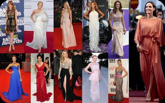Фото платье голливудские звезды