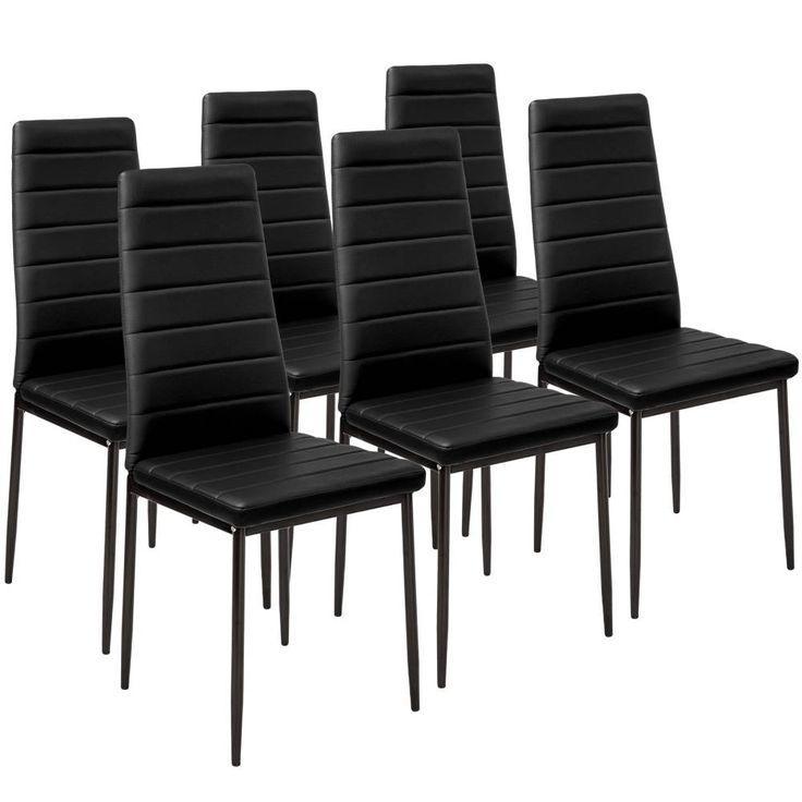6 Esszimmerstühle, Kunstleder